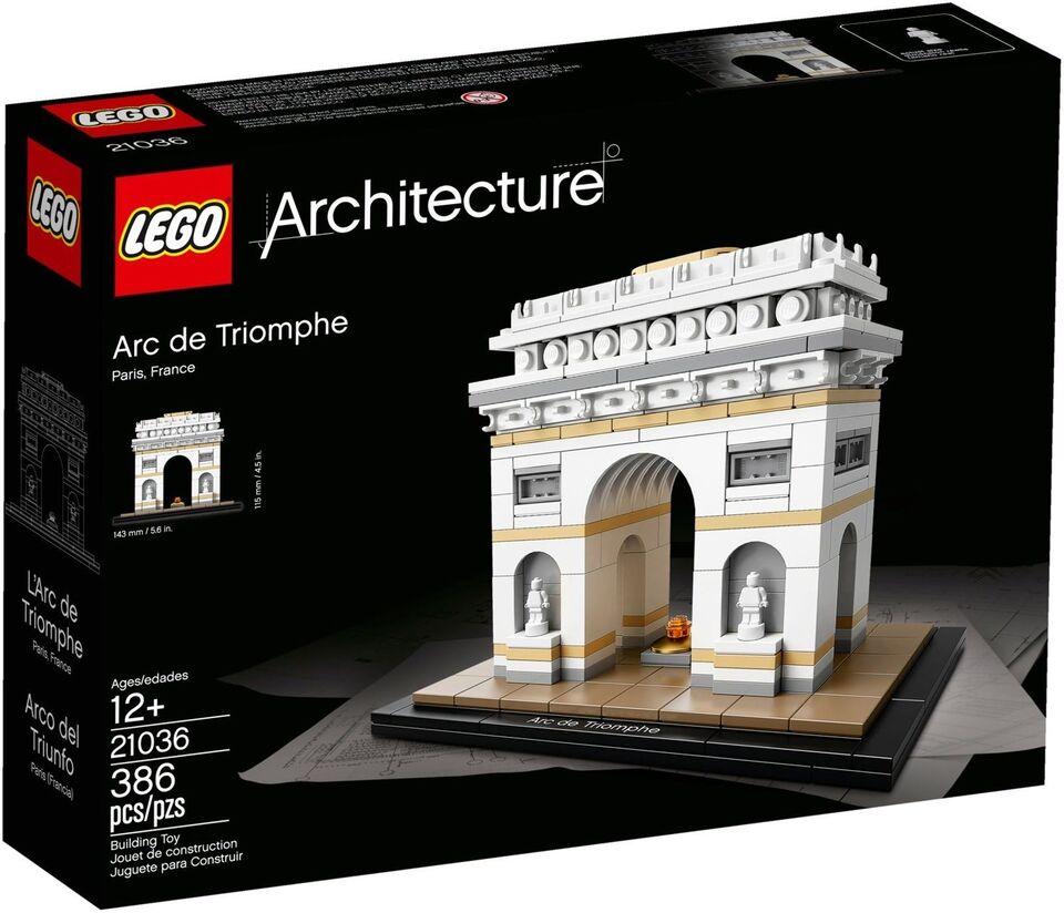 Lego Architecture, 21036 Arc de Triomphe UÅBNET
