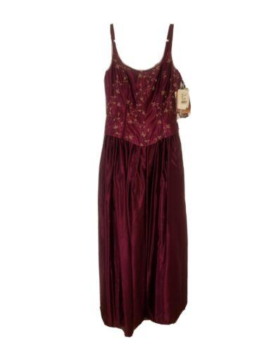 Vintage Jessica McClintock Gunne Sax Corset Purple