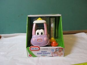 little-tikes-fairy-cozy-coupe-scribble-squad-NIB-with-4-crayons-amp-coloring-roll