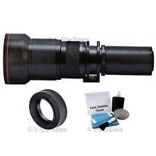 Vivitar 650mm-1300mm Telephoto Zoom Lens for Olympus 4/3 E-450, E-600, E-5