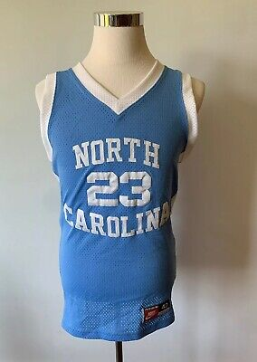 size 40 f5b79 4a40d UNC Rare Vintage Authentic Nike Michael Jordan North Carolina Jersey Size  40 M | eBay