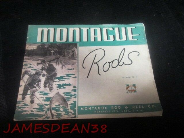 1930S MONTAGUE RODS  FLY FISHING BROCHURE SALES CATALOG S  hastened to see