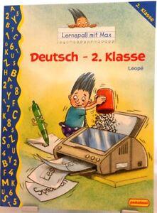 Allemand 2. classe + LERNSPAß avec MAX + langue exercent + des leçons + INFLUENTS/62