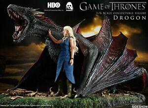 Daenerys-Targaryen-amp-Drogon-Dragon-Sixth-Scale-Action-Figure-Threezero-Sideshow