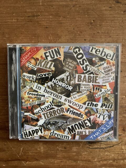 Sham 69 That's Life Uncommon CD 2001 Castle