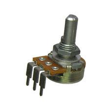 5k Audio Taper Potentiometer 40 Detents 14 D Shaft Log Pot