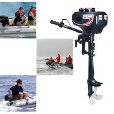 Hangkai 2-stroke Outboard Motor Boat Engine Outboard Motor Water-Cooling  3.5 HP