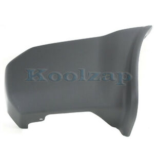Bumper End for Nissan Nissan Xterra 05-15 Rear Textured Left Side Plastic Textured