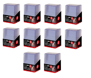 100-Count-Ultra-Pro-Super-Thick-180pt-Toploader-Card-Holders-Plus-Free-Sleeves