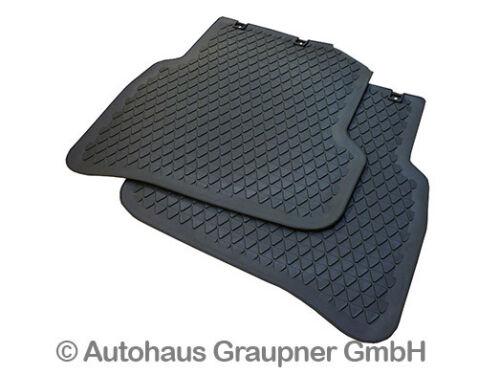 Volkswagen Gummifussmatten Satz VW Polo 6R vorn hinten Allwettermatten Fußmatten
