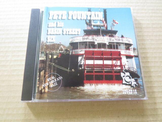 PETE FOUNTAIN - And His Basin Street Six (1999) - CD Album - 504 CD 16
