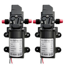 2 Pack 130psi Dc12v 6lmin Solid Electric Diaphragm Water Pump Self Priming Rv