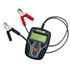 New Solar 12V Electronic Battery & System Tester for SLI, AGM & Gel Cell  #BA9