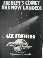 FREHLEY'S COMET - MAGAZINE CUTTING (FULL PAGE ADVERT) (REF ZG)