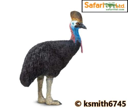 NEUF * Safari CASOAR solide Jouet en plastique Wild Zoo Animal Australien Bird