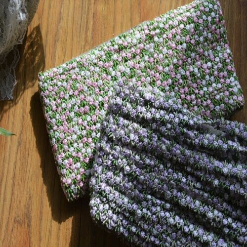 Exquisite 2 Color Venise bordado de encaje de corte-Precio por la yarda//Seleccionar Color//