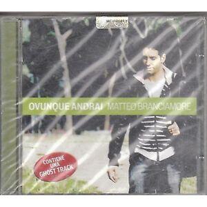 MATTEO-BRANCIAMORE-Ovunque-proteggi-CD-2009-SIGILLATO-SEALED