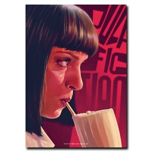 Pulp Fiction 24x12inch Amanda Plummer Movie Silk Poster Art Print