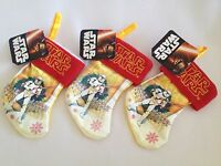 Star Wars 7 Mini Christmas Stockings Stormtrooper Set Of 3 Holiday Decor