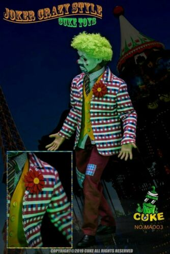 CUKE TOYS MA-003 1//6 The Joker Crazy Style Casual Outfit Clothing Model Clown
