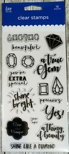 Love-Nicole-Shine-Bright-Clear-Stamp-Set-Diamond-Gem-Friend-Beautiful-Cardmaking
