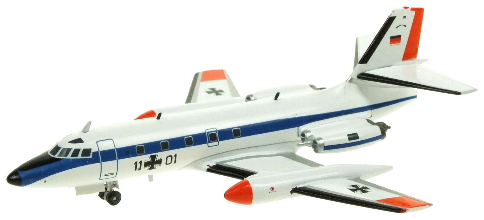 Inflight 200 IF1400716 1/200 Tedesco Aeronautica C-140b Jetstar  L-1329  11+01 W