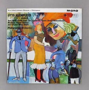 Klemperer-Conducts-Kurt-Weill-Johann-Strauss-etc-12-034-Vinyl-33CX-1814