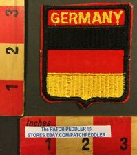 Vintage GERMANY Flag Theme Patch 1984 Nabisco Campbell Soup Advertising 55S