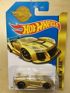Details About Hot Wheels Quick N Sik Gold Edition Collectibles Car Toy Gift Halloween