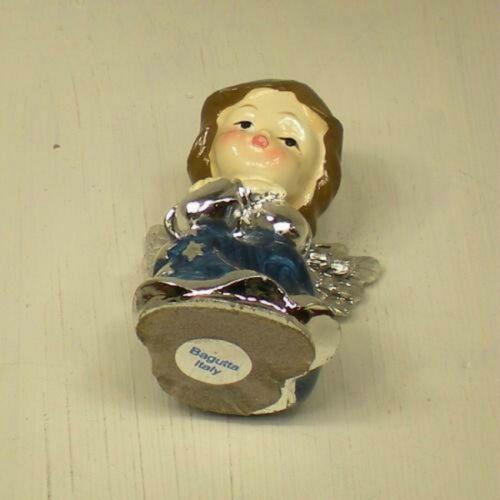 Figürchen Engel in Folie 925 Silber Höhe 5,2 cm Innenausstattung Emaille 150160