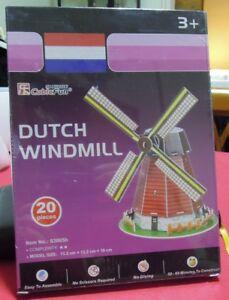 Puzzle 3D CubicFun cod S3005h DUTCH WINDMILL S serie - Italia - Puzzle 3D CubicFun cod S3005h DUTCH WINDMILL S serie - Italia