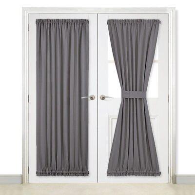 Gl Door Curtain Panel