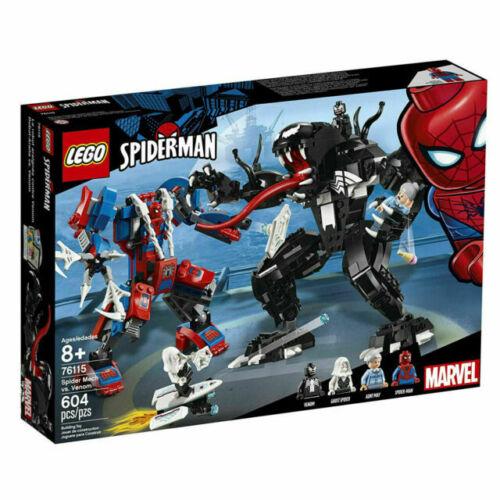 LEGO Marvel 76115 Spider Mech Vs Venom Set