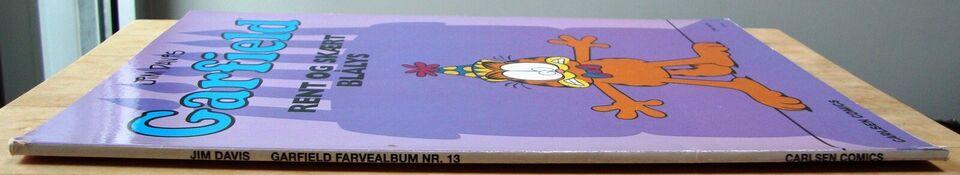 Garfield farvealbum 13: Rent og skært blålys, Jim Davis,