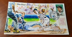 Wild-Horse-HP-Cachets-WADE-BOGGS-Red-Sox-Limited-Watercolor-Rare-47-125