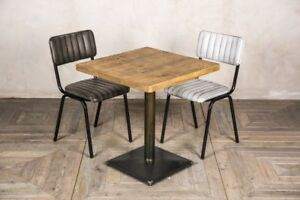 best service c6b54 d5c3f Details about RESTAURANT BAR TABLE POSEUR OR DINING SMALL SQUARE DINING  TABLE CHOICE OF TOPS