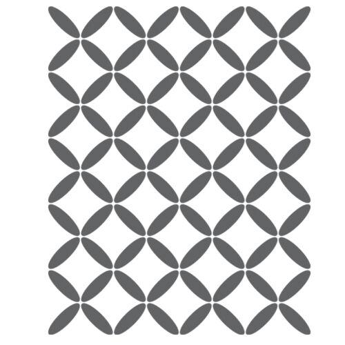 Geometric Lattice Stencil For Crafting Canvas DIY decor Wall art furniture