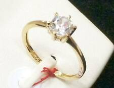 SOLID 18k Saudi Gold Ring - Size 5 /  1.5g