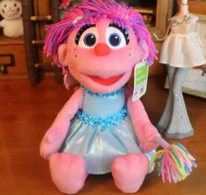 Details About Abby Cadabby Plush Gund Sesame Street Fairy Doll Toy 30cm