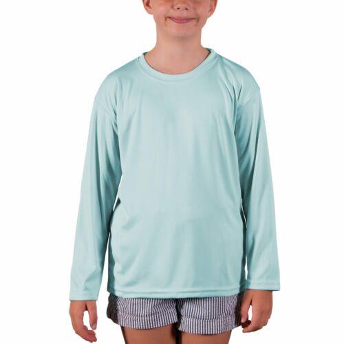 Vapor Apparel Youth UPF 50 UV Sun Protection Performance Long Sleeve T-Shirt