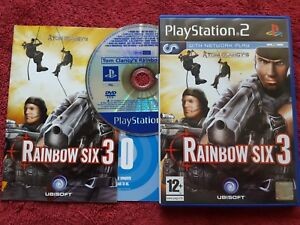 TOM-CLANCY-039-S-RAINBOW-SIX-3-PROMO-FULL-GAME-SONY-PLAYSTATION-2-PS2-PAL