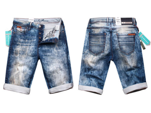 Cipo /& Baxx Herren Jeans Shorts Bermuda kurze Hose CK121