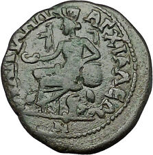 CARACALLA 198AD Anchialus in Thrace CYBELE LIONS Ancient Roman Coin i50971