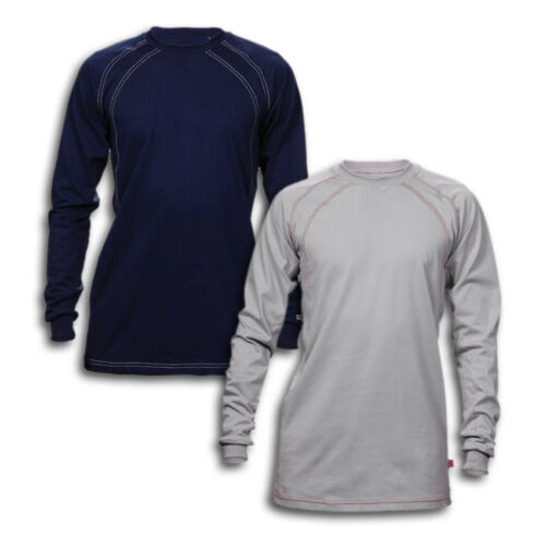FR Clothing Shirts Flame Resistant Crew Cotton Industrial Work Uniform REED