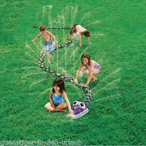 wasserspiel f r kinder wasserspritzende schlange kinderspiel sprinkler spiel ebay. Black Bedroom Furniture Sets. Home Design Ideas
