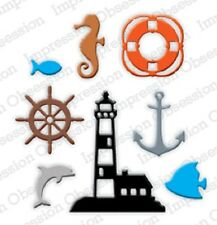 Impression Obsession MINI NAUTICAL SET DIE DIE184-L New