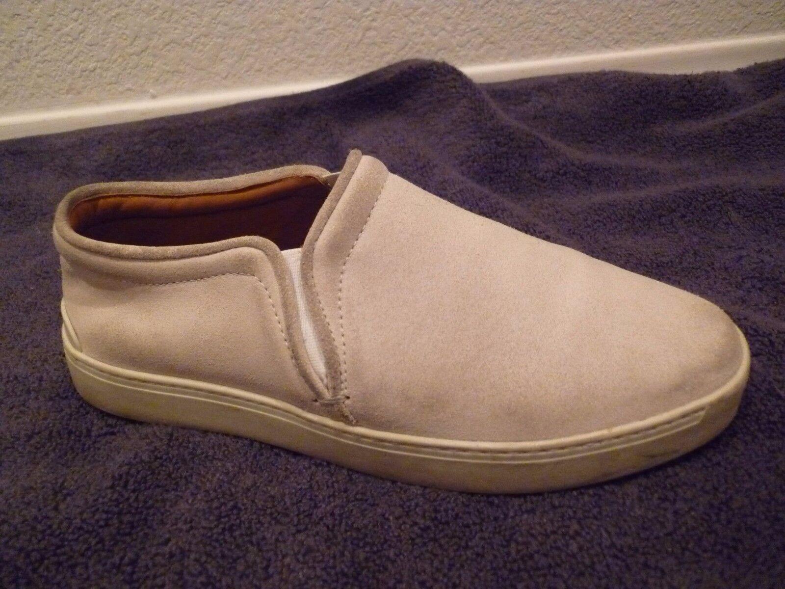 395 Rag & Bone KENT Suede leather stone Slip-On Sneaker Flat shoes SZ 38 8