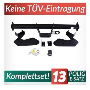 Für Isuzu D-Max für Trittbrett 07-12 Anhängerkupplung starr Kpl AHK