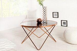 Table-basse-ponter-85cm-cuivre-Noir-en-verre-de-bar