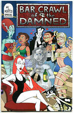 BAR CRAWL of the DAMNED #1, NM-, Mortco, Vampires, 1998, more indies in store